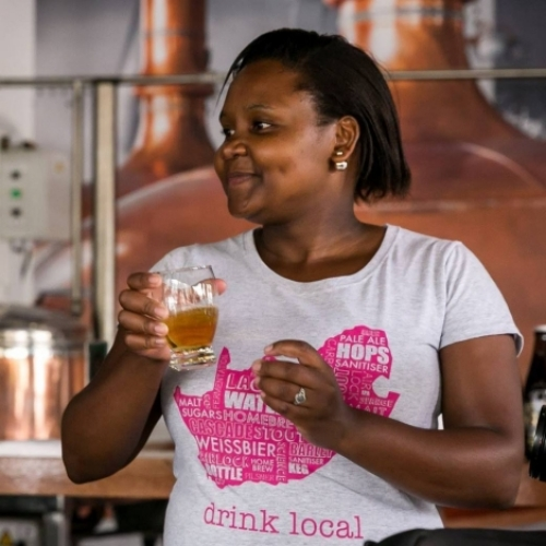 Apiwe Nxusani-Mawela, Founder, Brewsters Craft