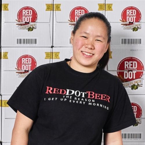 Crystalla Huang, Director:Brewmaster, RedDot Brewhouse