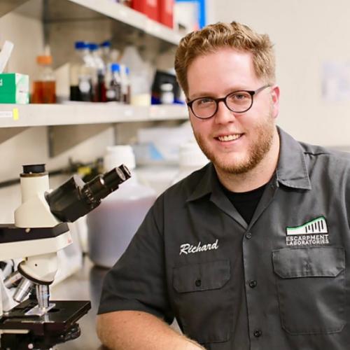 Richard Preiss, Co-Founder _ Lab Director, Escarpment Laboratories