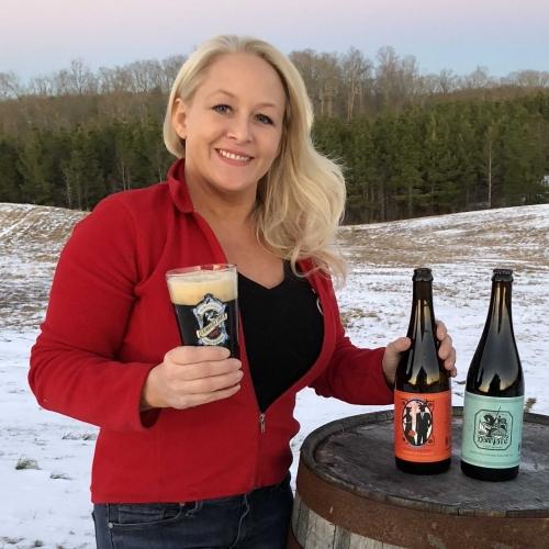Lisa Pumphrey, Co-Founder of Lickinghole Creek Craft Brewery